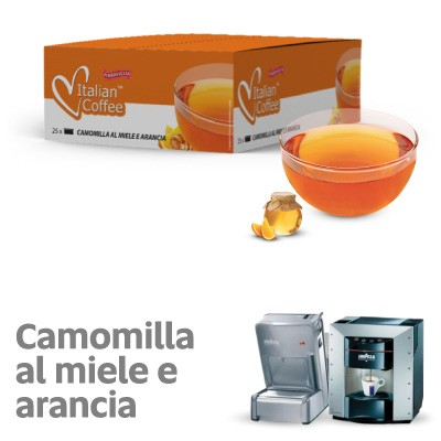 Italian coffee camomilla al miele ed arancia point
